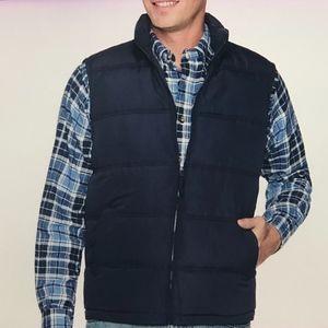 Weatherproof Men's Navy Puffer Vest X-Large